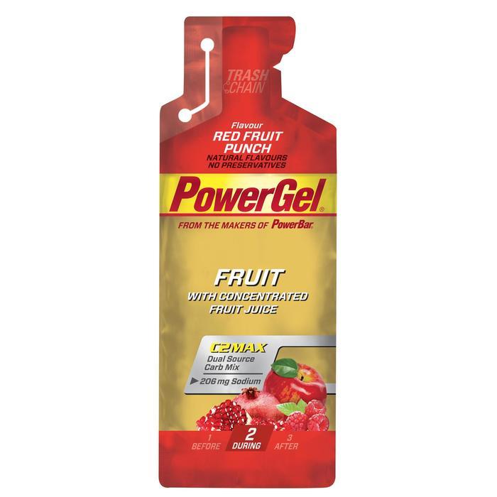 Gel énergétique POWER GEL fruits rouges 4x41g - 1153841