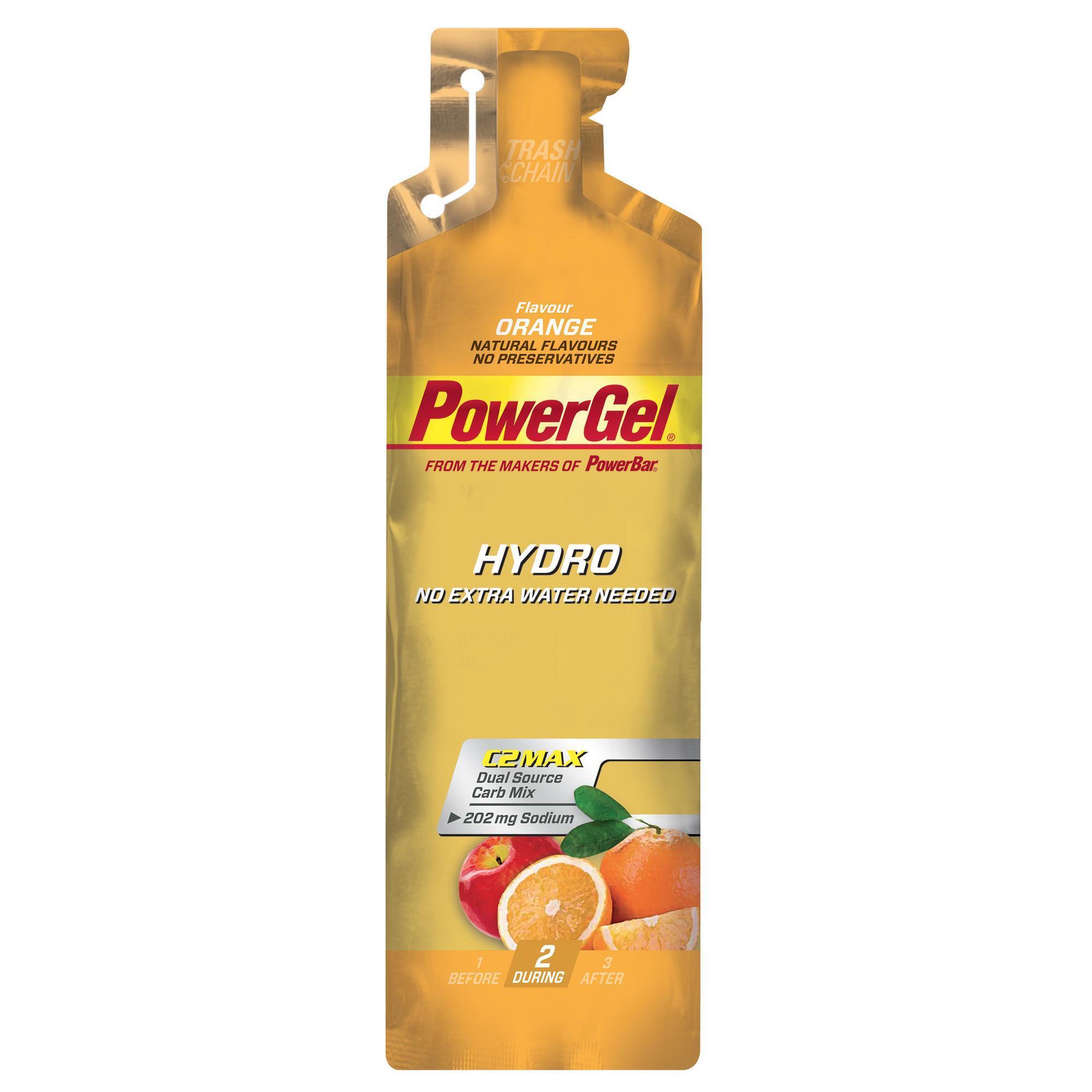 Powerbar Energiegel Hydrogel sinaasappel 67 ml kopen