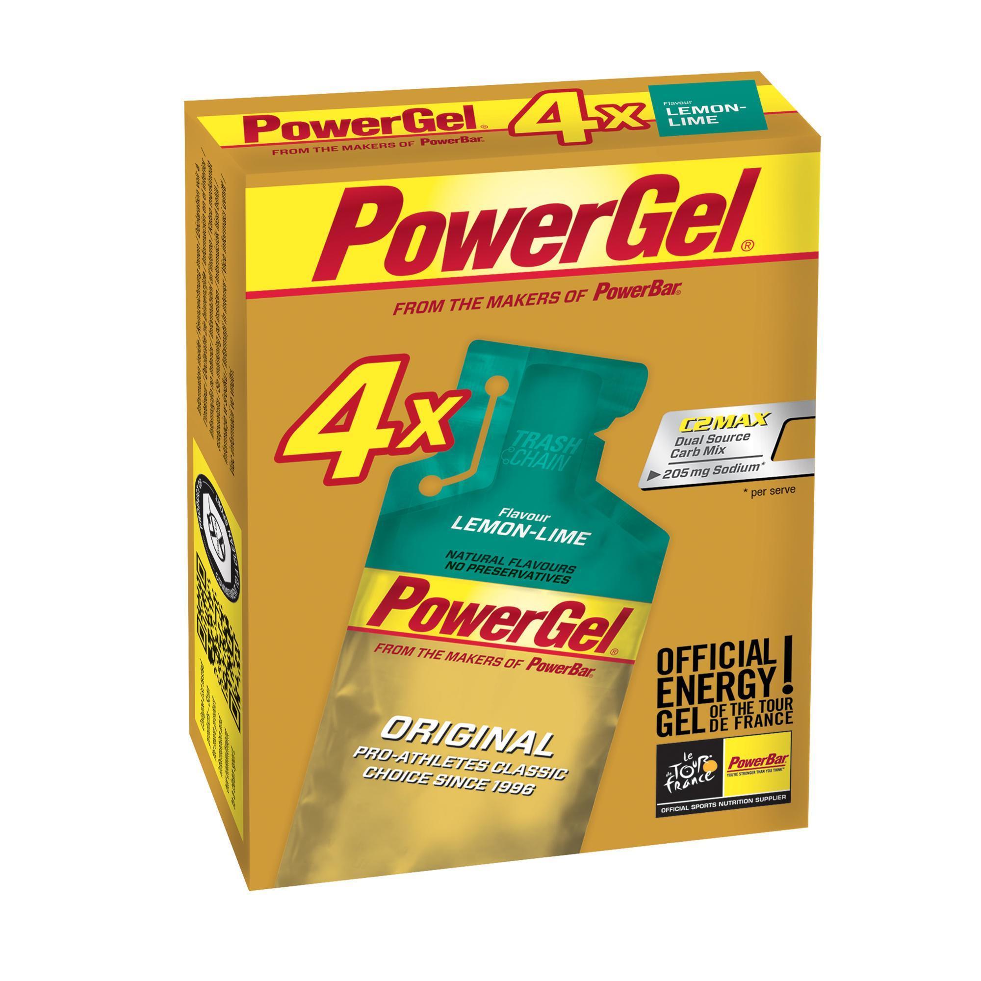 Powerbar Energiegel Power Gel citroen 4x41g g