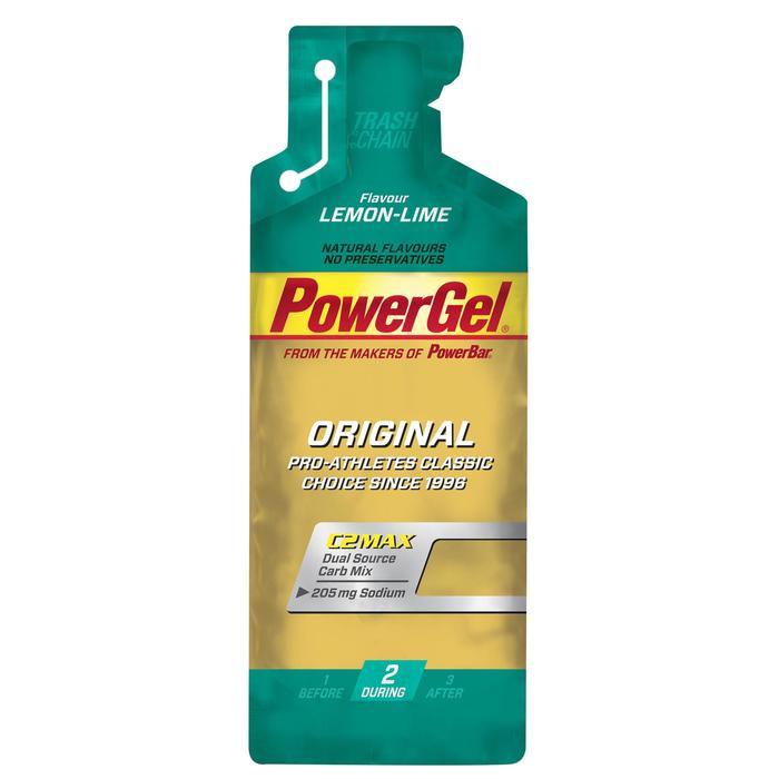 Gel énergétique POWER GEL citron 4x41g - 1153847