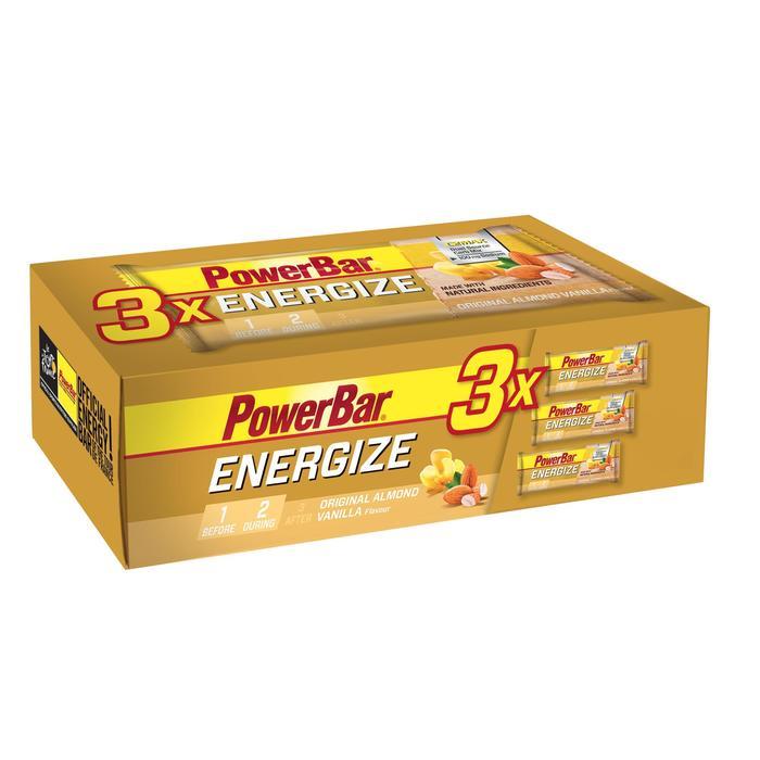 Barre énergétique ENERGIZE vanille amande 3x55g - 1153848