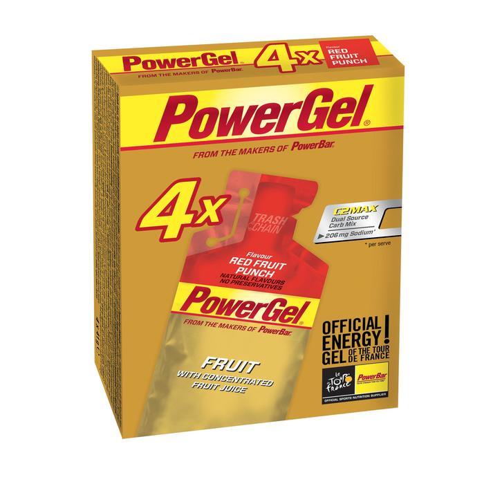 Gel énergétique POWER GEL fruits rouges 4x41g