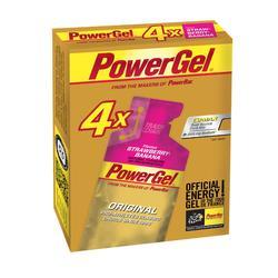 Gel energético POWER GEL fresa plátano 4x41 g