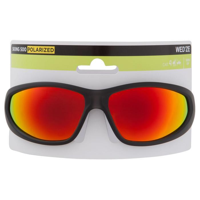 Sonnenbrille MH510 polarisierend Kategorie4 Erwachsene grau/rot