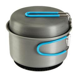 Tweepersoons kookpan voor trekking uit aluminium (1,2 liter) - 115396