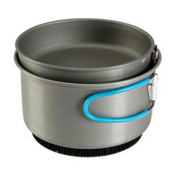 Tweepersoons kookpan voor trekking uit aluminium (1,2 liter) - 115397