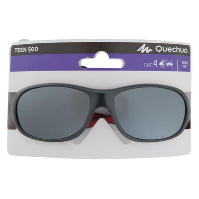 النظارة Teen 500 للتزحلق والتجول للأطفال من عمر 7-10 سنوات الفئة 4 – لون رمادي