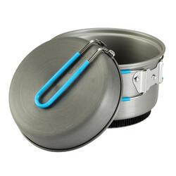 Tweepersoons kookpan voor trekking uit aluminium (1,2 liter) - 115399