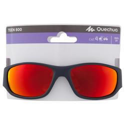 Zonnebril Teen 800 voor skiën en bergsporten, kinderen > 7, categorie 4 - 1154036