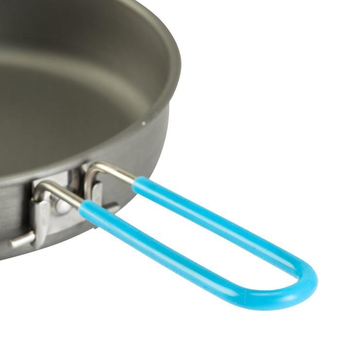 Tweepersoons kookpan voor trekking uit aluminium (1,2 liter)