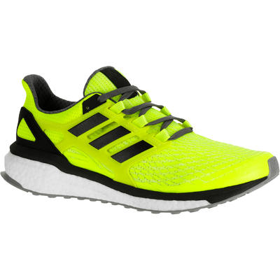 genuine shoes shopping buying cheap CHAUSSURE RUNNING ADIDAS ENERGY BOOST 3 HOMME JAUNE