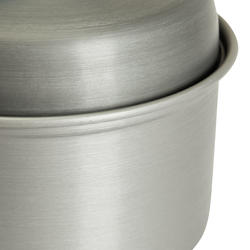 Tweepersoons kookpan voor trekking uit aluminium (1,2 liter) - 115412