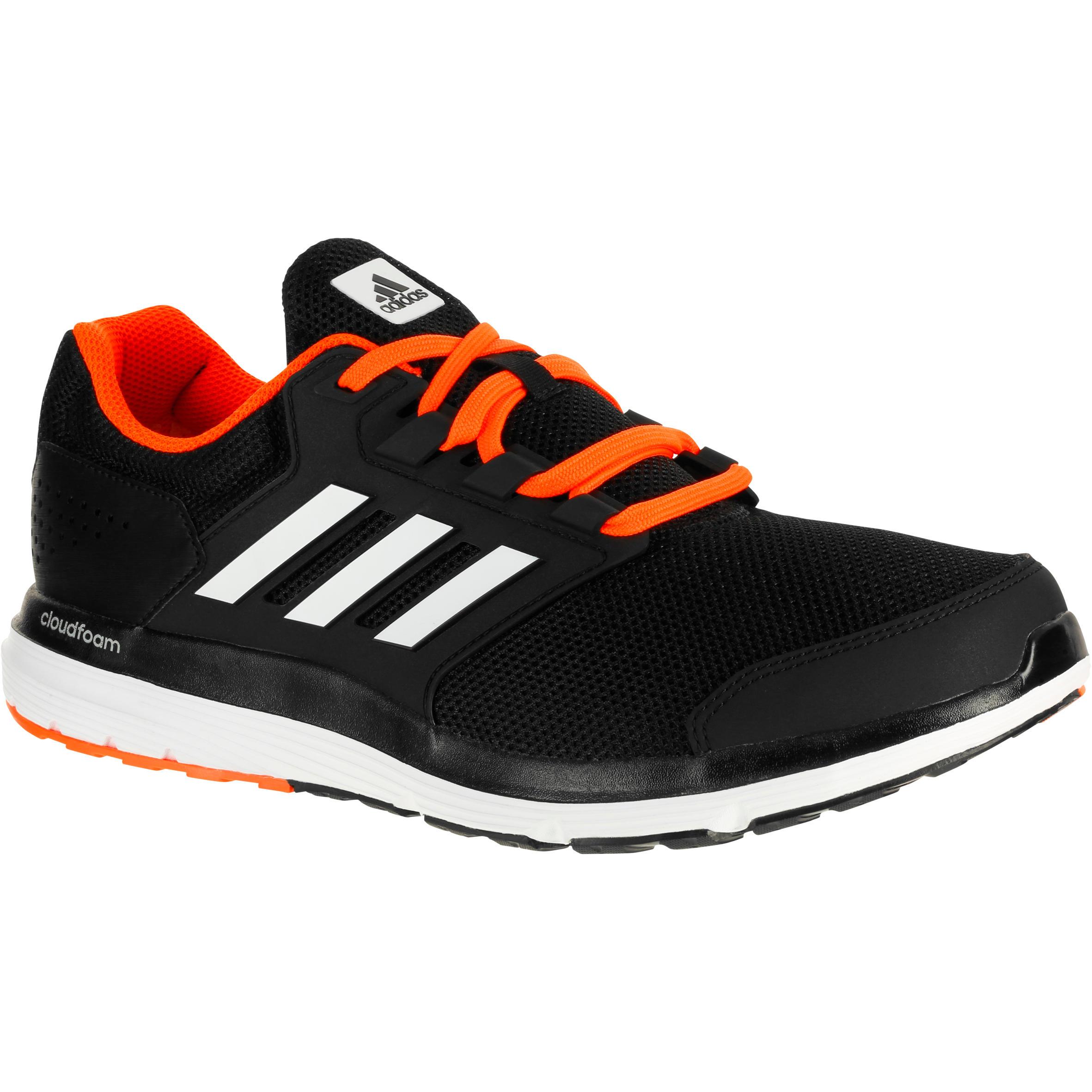 adidas chaussures jogging adidas galaxy 4 homme noir decathlon. Black Bedroom Furniture Sets. Home Design Ideas