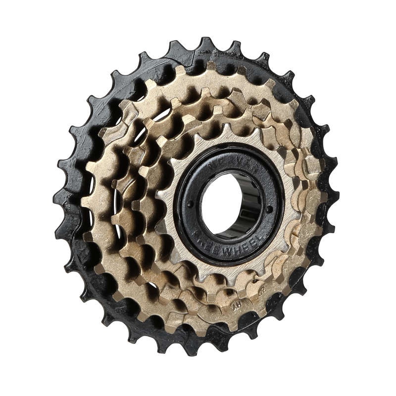 DRIVLINA CYKEL Cykelsport - Frihjul skruvas fast 5 v 14x28 BTWIN - Drivlinor