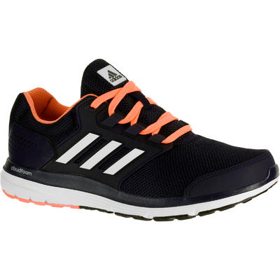 chaussures de sport 0a353 adf00 CHAUSSURES JOGGING COURSE A PIED ADIDAS GALAXY 4 FEMME NOIR