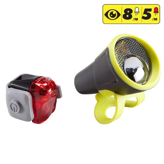 Led fietsverlichting 300 voor- en achterlicht - 1154445