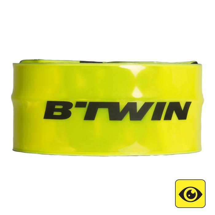 BRASSARD VISIBILITE 500 JAUNE BTWIN - 1154446