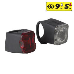 Fietslamp set VIOO 500 USB voor- en achterlicht - 1154462