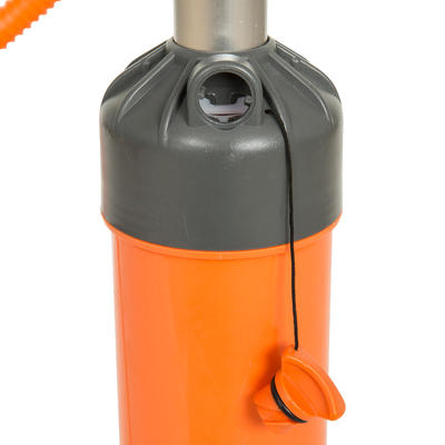 POMPE A MAIN STAND UP PADDLE HAUTE PRESSION 20 PSI DOUBLE ACTION ORANGE