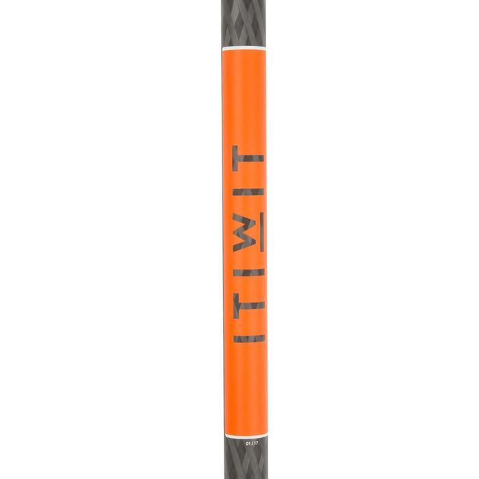 PALA STAND UP PADDLE 500 TUBO DE CARBONO AJUSTABLE 170-210 CM