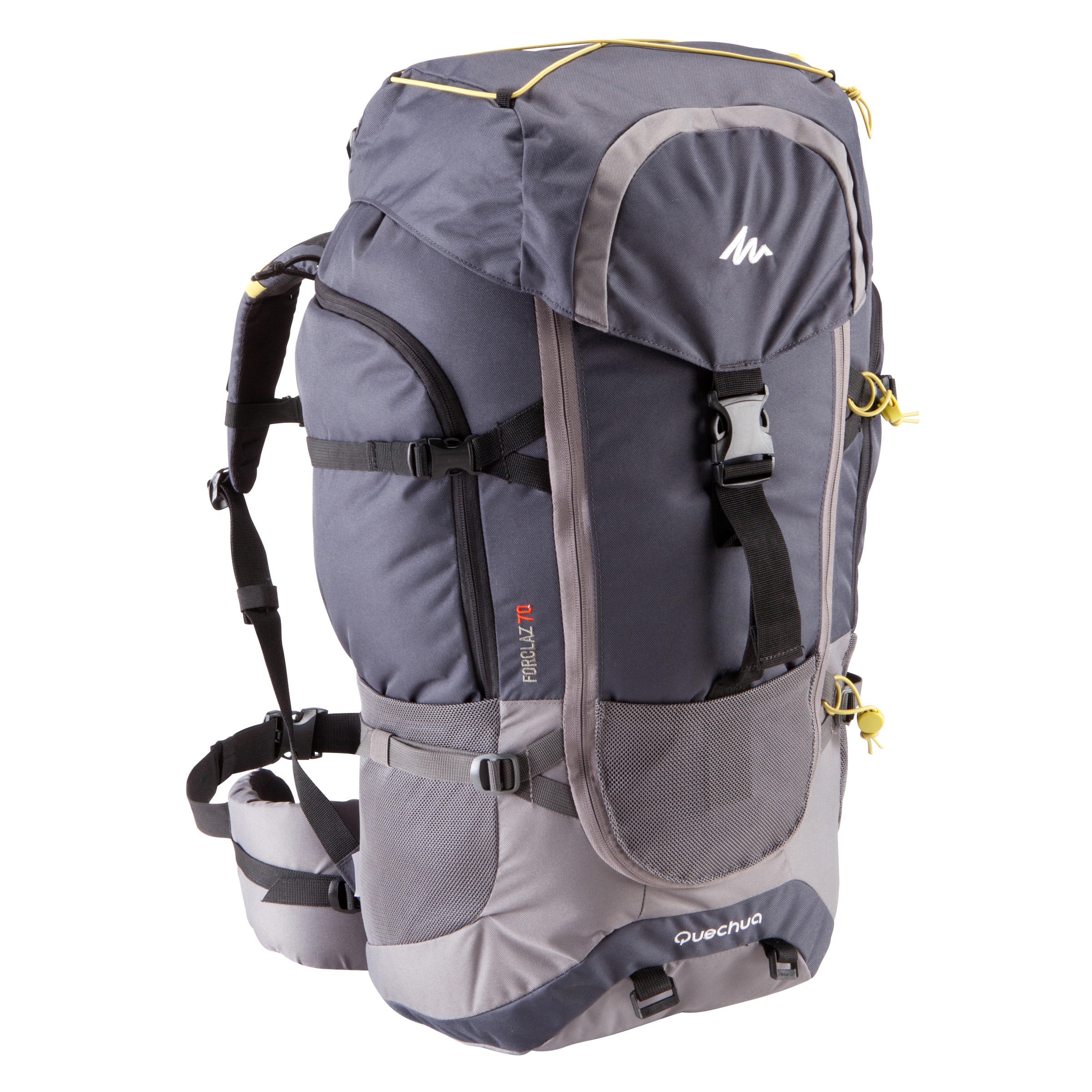 Forclaz 70 Litre Trekking Backpack - Dark Grey