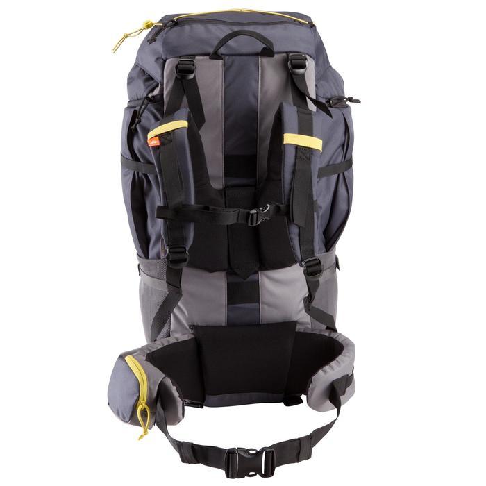 Sac à dos Trekking forclaz 70 litres gris foncé - 115467