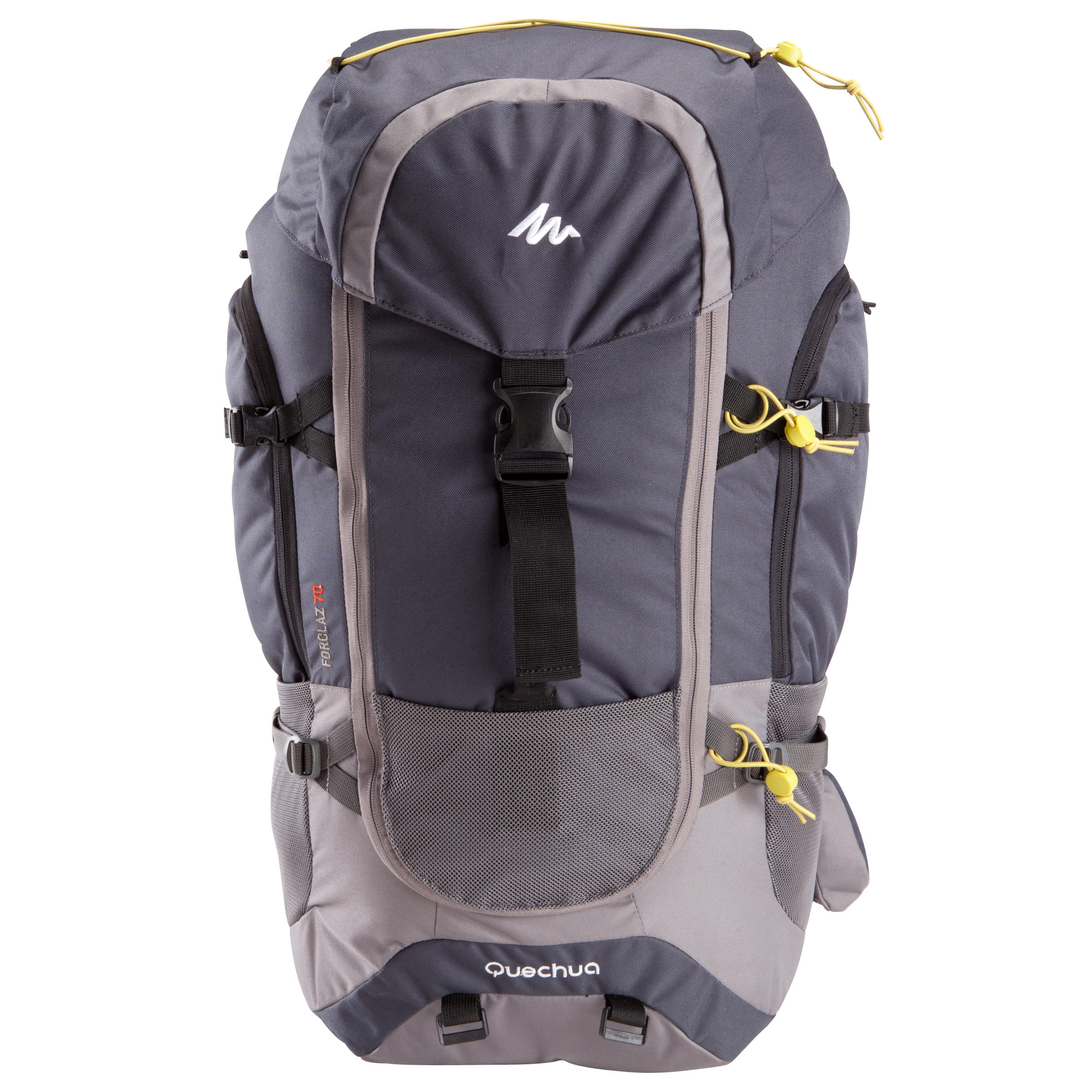Forclaz 70-Litre Travel Backpack - Grey