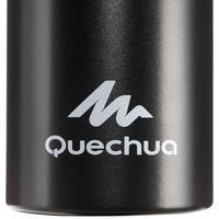Cantimplora Camping Senderismo Quechua Negro Apertura Fácil Aluminio 1,5 L