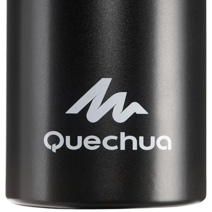 Trinkflasche 500 Schnellverschluss Aluminium 1,5L schwarz