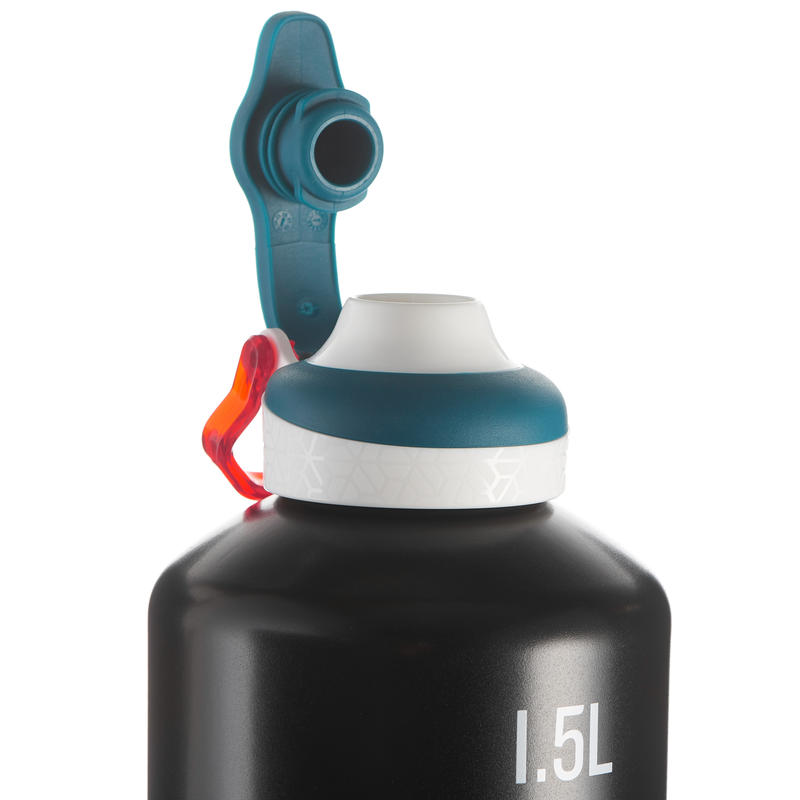 Bottle 1.5L Aluminum (Quick-Opening) - Black