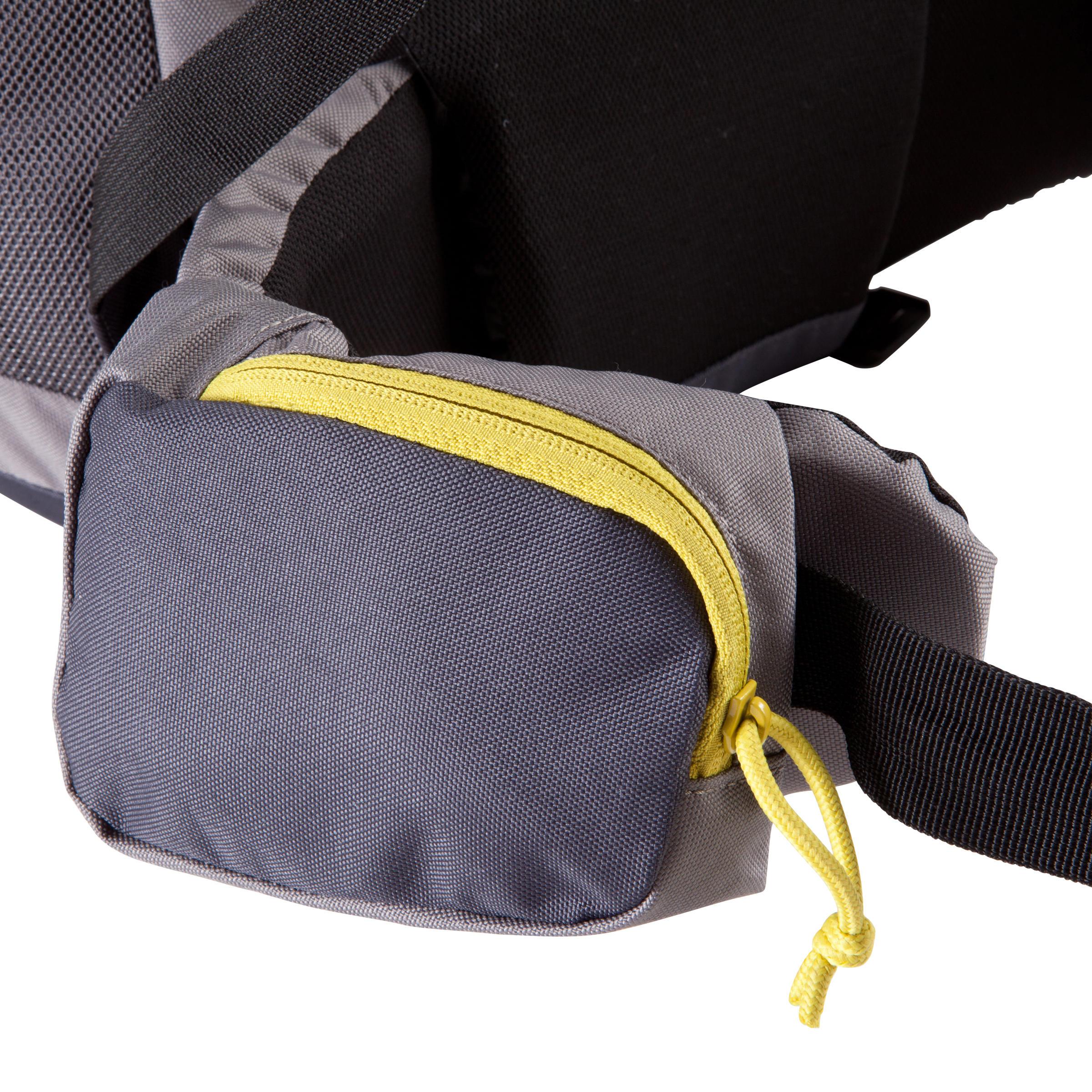 Forclaz 70-Litre Trekking Backpack - Grey
