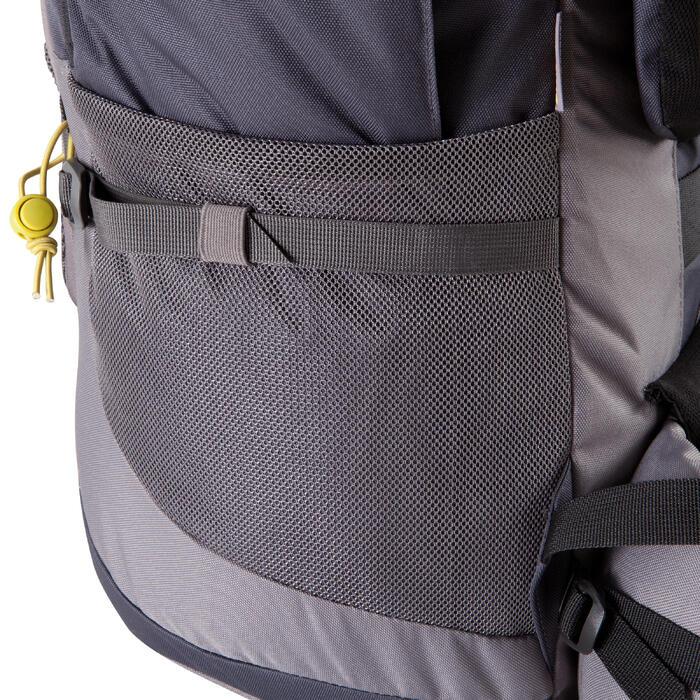 Sac à dos Trekking forclaz 70 litres gris foncé - 115483