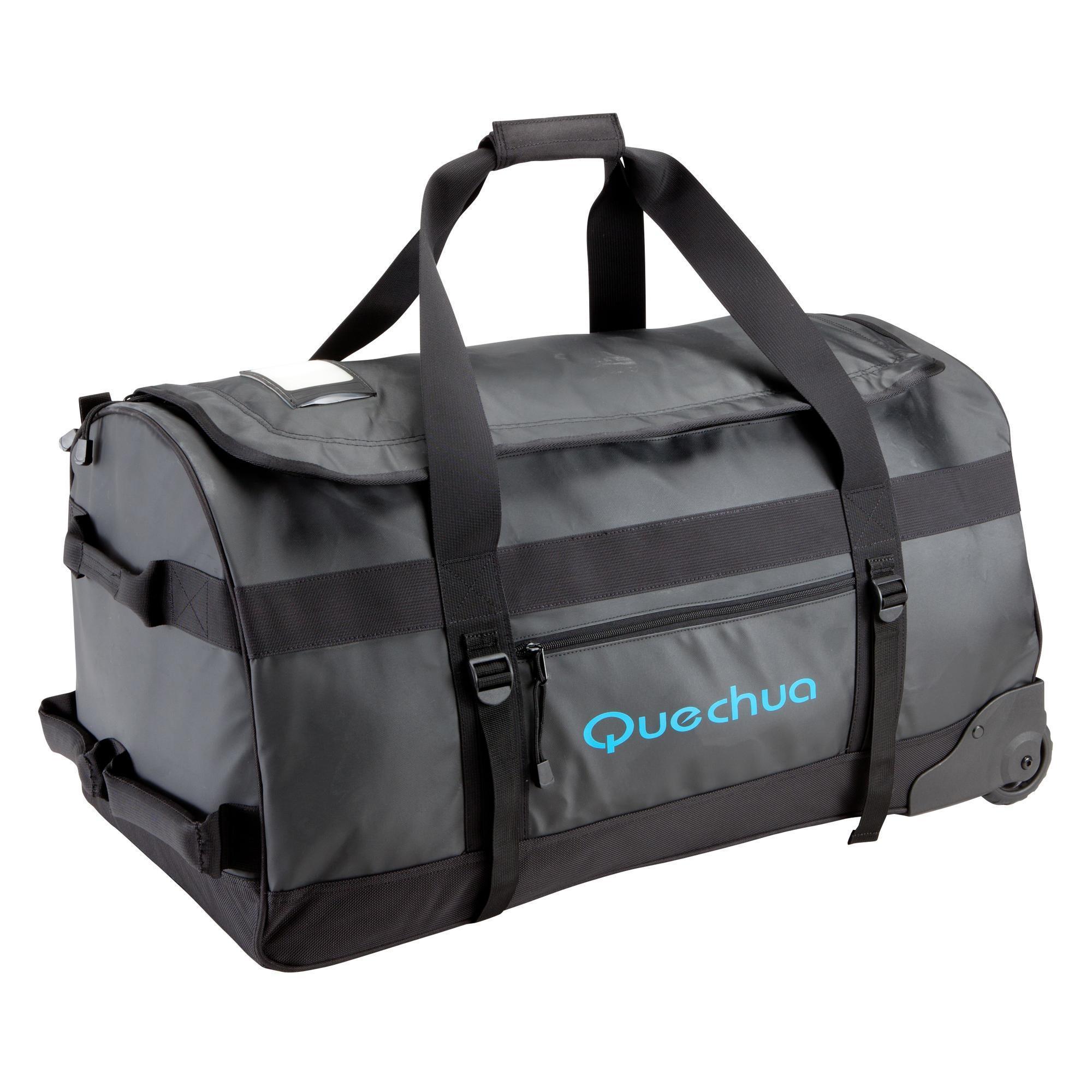 Wheeled Trekking bag 100l Black