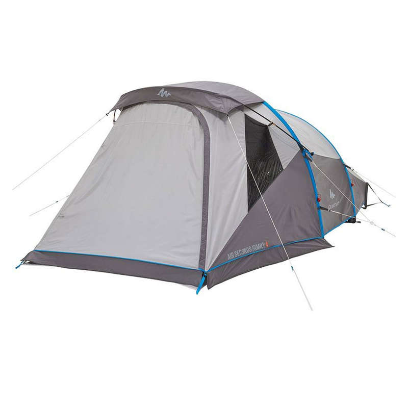 SPARE PARTS FAMILY/BASE CAMP TENTS Camping - Air Seconds 4 Double Roof QUECHUA - Tent Spares and Accessories