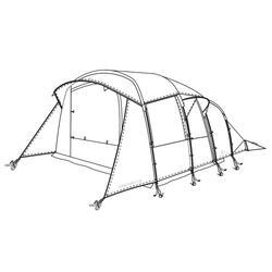 Buitentent voor tent Arpenaz Family 5.2 XL