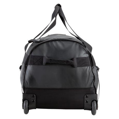 wheeled trekking bag 100l black quechua