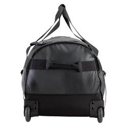 Trekkingtas op wieltjes 100 l zwart - 115486