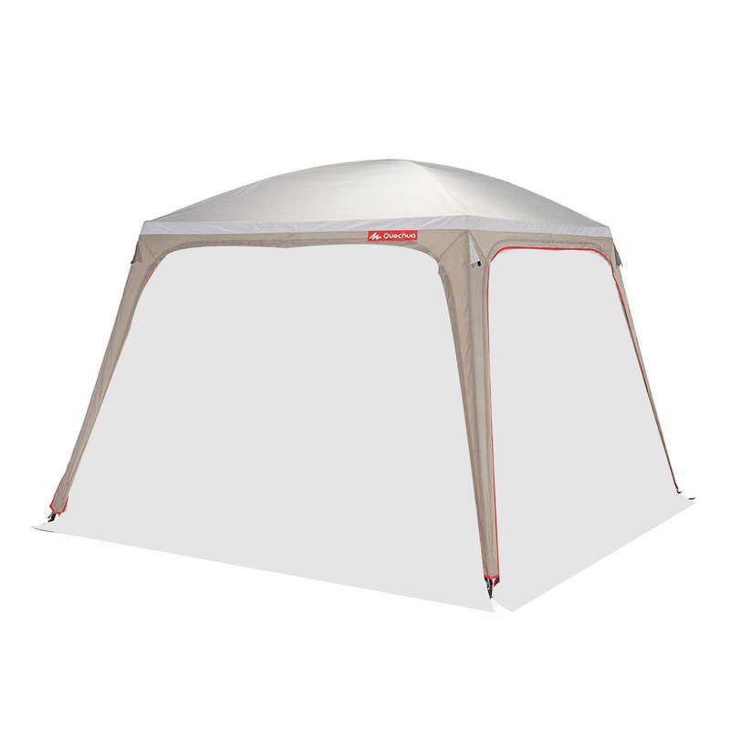 RESERVDELAR FAMILJETÄLT/ALLRUM/GOLV Camping - Tältduk 3X3 FRESH utan dörr QUECHUA - Reservdelar för tält