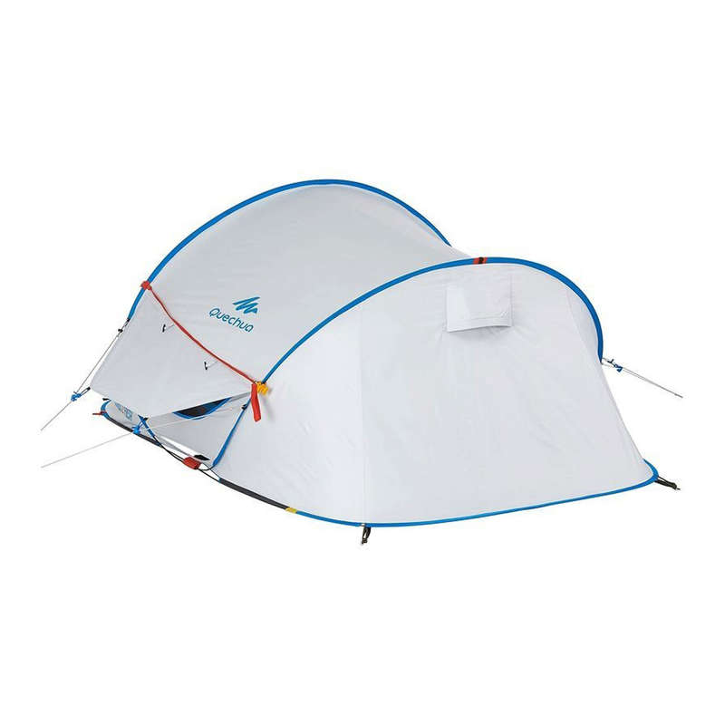SPARE PARTS SECOND TENTS Camping - 2 Fresh Double Roof + Frame QUECHUA - Tent Spares and Repair