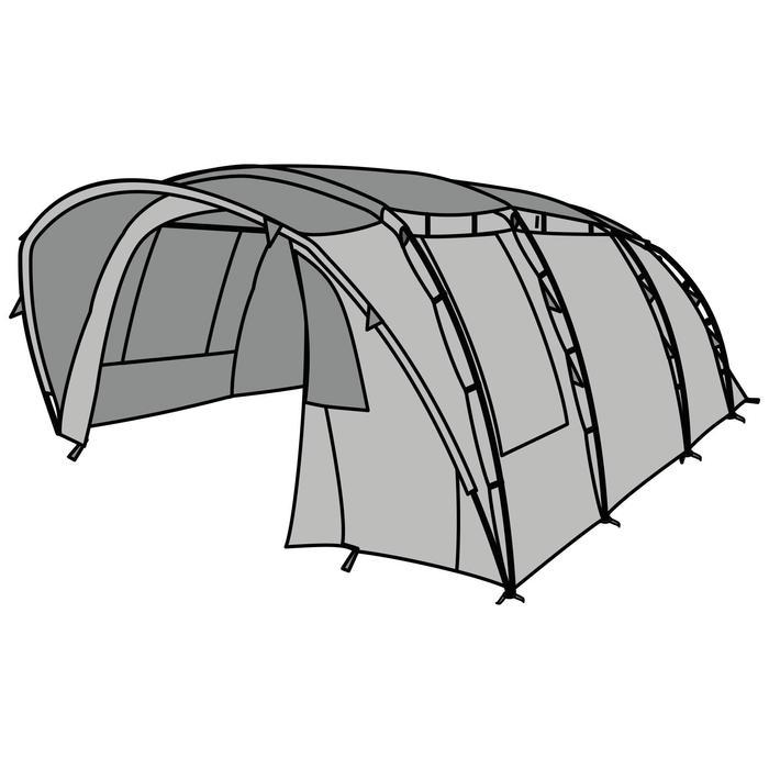 Buitentent voor tent Quechua T6.3 XL AIR C