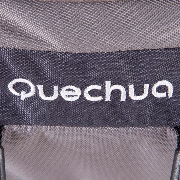 Mochila Trekking Forclaz 70 litros gris oscuro