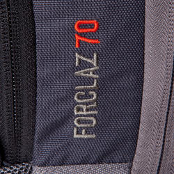 Forclaz 70-Litre Trekking Backpack - Grey