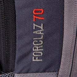 Trekkingrucksack Forclaz 70Liter grau