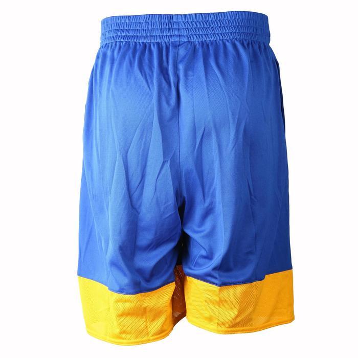 Short basketball adulte NBA Warriors blanc bleu - 1154926