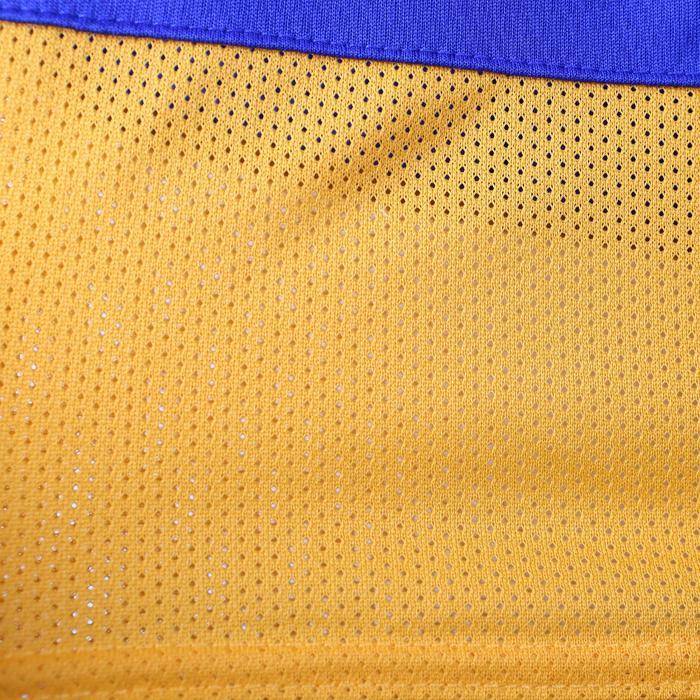 Short basketball adulte NBA Warriors blanc bleu - 1154928