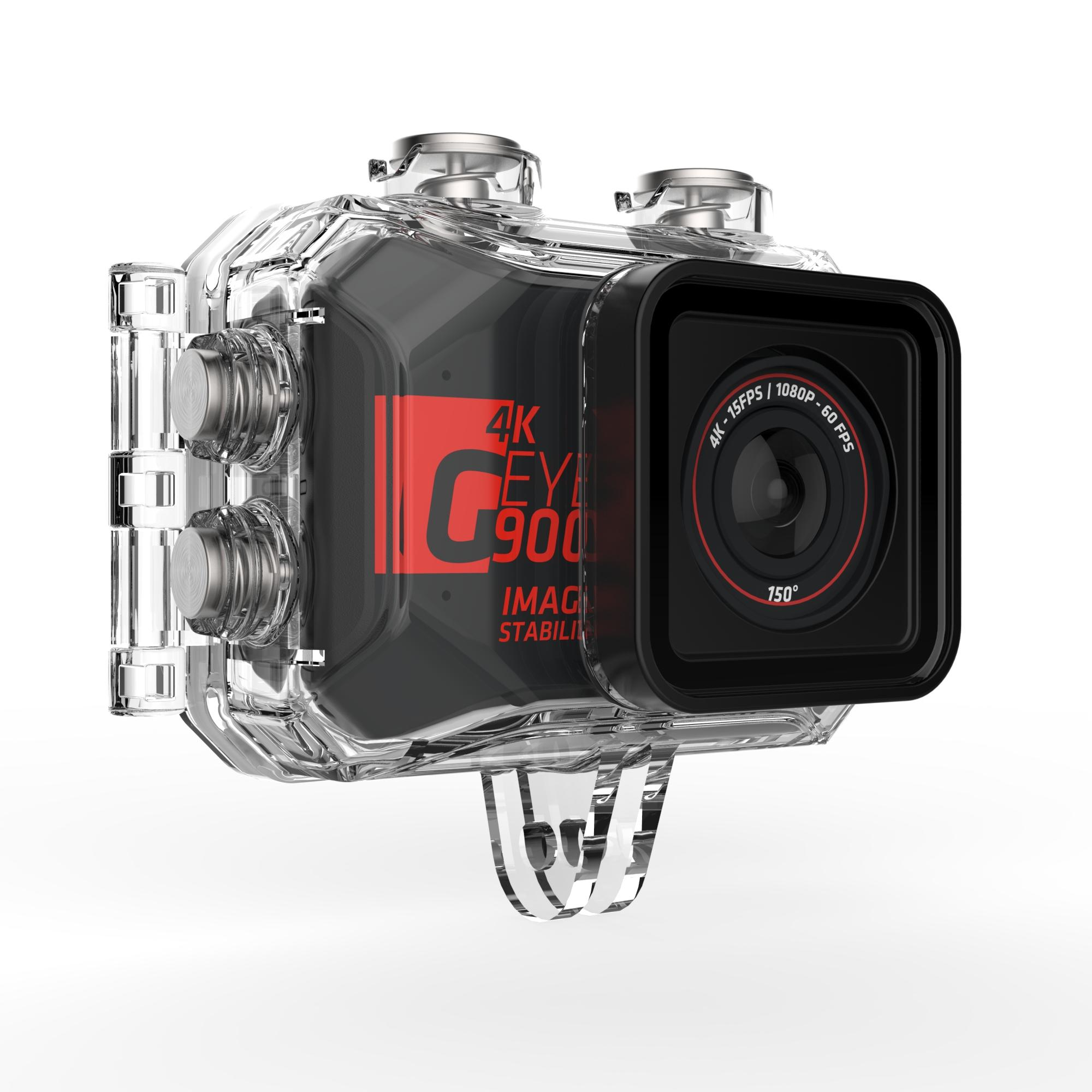 G-EYE 900 4K and FULL HD Sports Camera with Touch Screen.