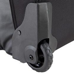 Trekkingtas op wieltjes 100 l zwart - 115498
