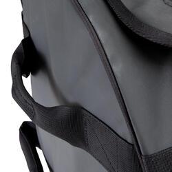 Trekkingtas op wieltjes 100 l zwart - 115499