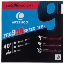 Rubber voor tafeltennisbat FRB 990 Speed 40°