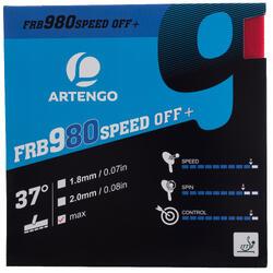 Rubber voor tafeltennisbat FRB 980 Speed 97°